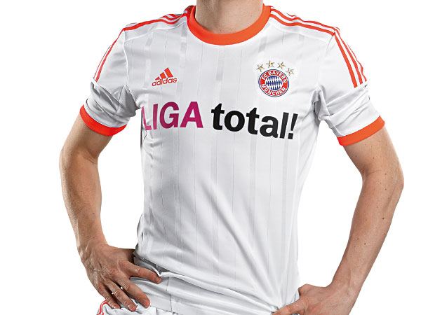 Orange Bayern Kit 2012 2013