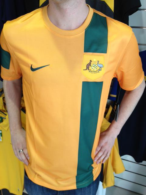 Socceroos New Jersey 2012