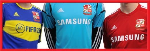 Swindon Town Shirt 2013