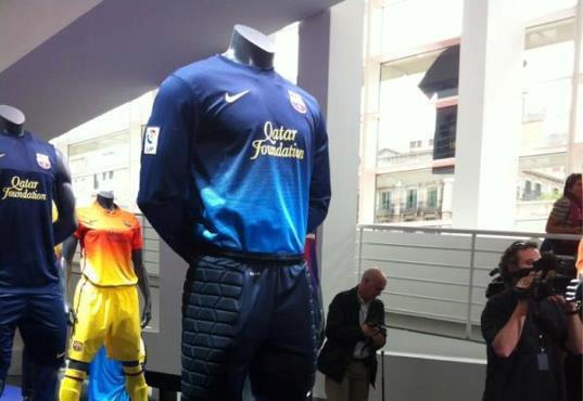 Barcelona Goalkeeper Jersey 2012