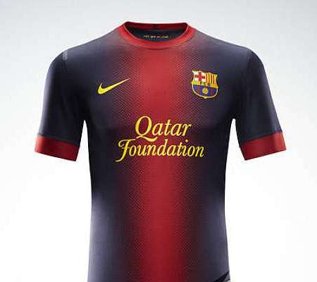 49adc5af5d9 New Barcelona Kit 2012-2013- Nike Barcelona Home and Away Orange ...
