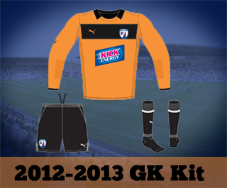 Chesterfield GK Kit 12-13