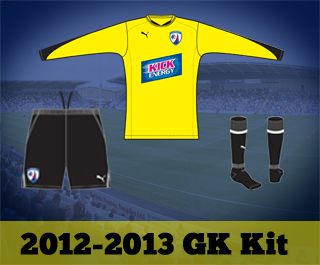 Chesterfield Goalkeeper Jersey 2012-2013