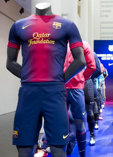 the best attitude 7fe2a 92a7e New Barcelona Kit 2012-2013- Nike Barcelona Home and Away ...