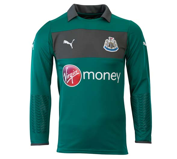 Green Newcastle Goalkeeper Kit 2012 2013
