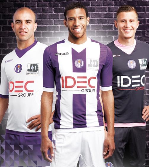 Kappa Toulouse FC Kits 2012-2013