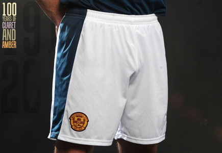 Motherwell FC Third Shorts 2012