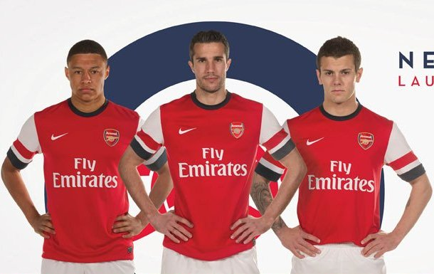 New Arsenal Kit 2012-2013