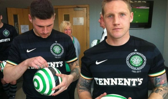 New Celtic Away Top 2012 2013