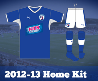 New Chesterfield Home Kit 2012-13