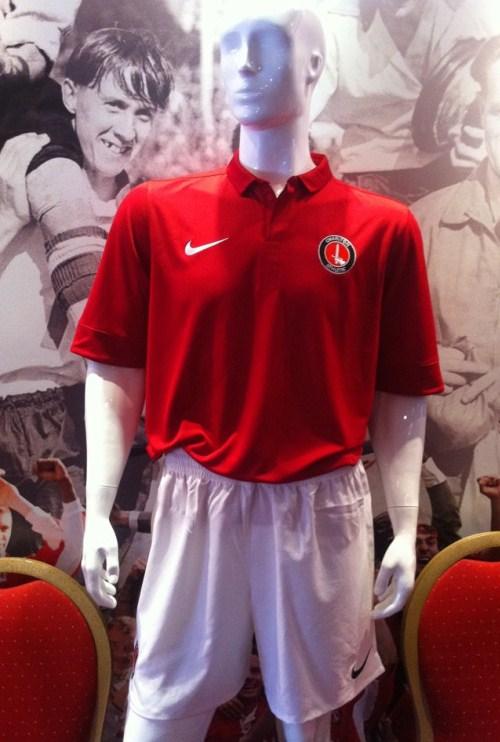 New Nike Charlton Kit 2012 2013