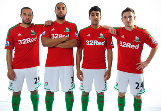 New Swansea City Away Kit 2012 2013