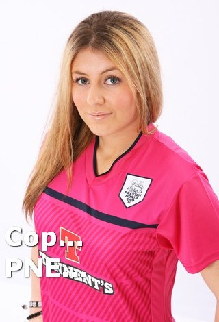 PNE Pink Jersey 2013