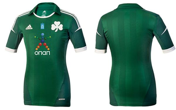 Panathinaikos Adidas Jersey 2012-2013
