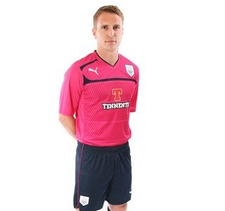 Pink Preston North End Shirt 2012-13