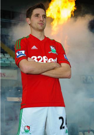 Red Swansea City Kit 2012-13