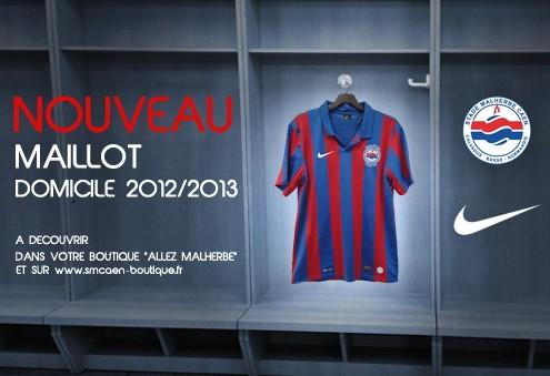 SM Caen Maillot 2013