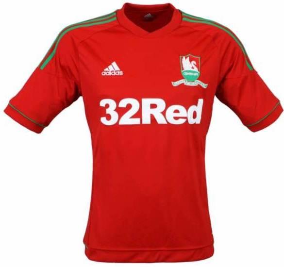 Swansea Shirt 2012