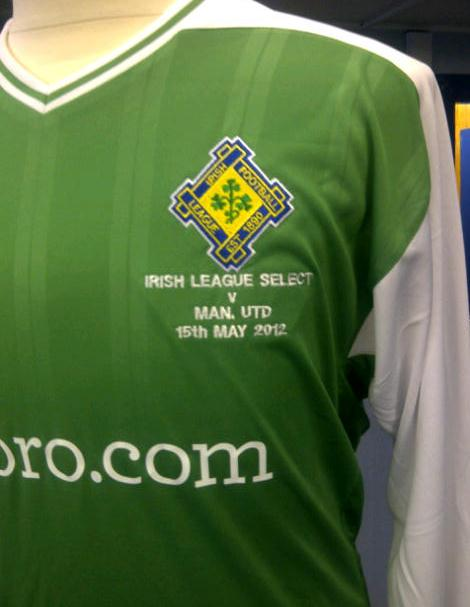 Umbro Irish League Select Kit 2012