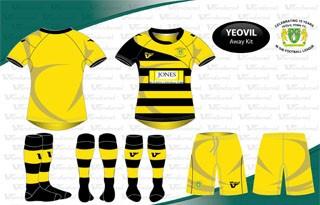 Yeovil Town Vandanel Kit 2012