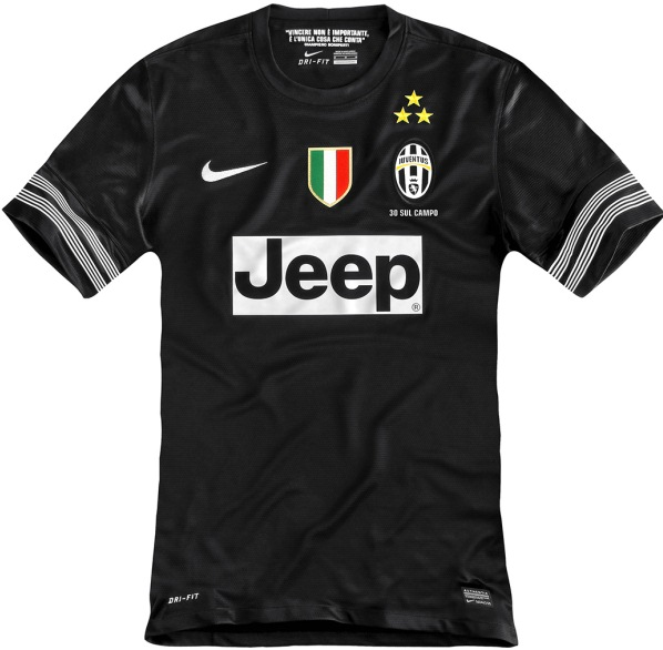 Black Juventus Kit 2013