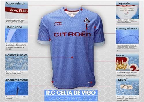 Celta Vigo Jersey 2012