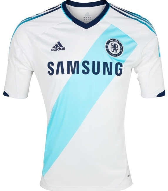 hot sales 42e60 c5baf New Chelsea Away Jersey 2012-2013- White Adidas Chelsea Kit ...