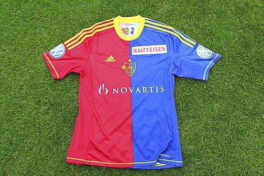 FC Basel Soccer Jersey 2012