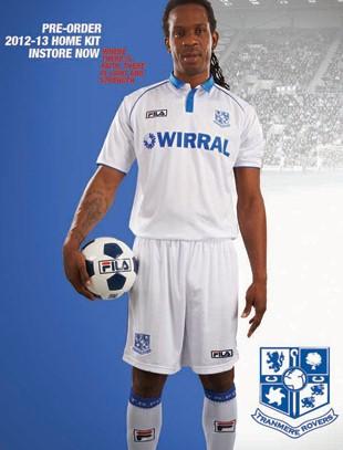 FILA Tranmere Rovers Kit 12-13