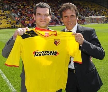 Football Manager Watford Shirt 2012