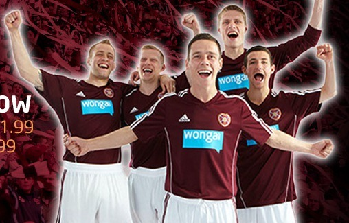 Heart of Midlothian Home Strip 12-13