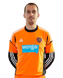 Hearts Home Goalkeeper Top 2013