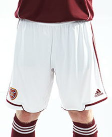 Hearts Home Kit Shorts 12-13