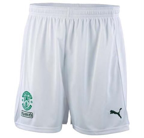 Hibernian Home Shorts 2012