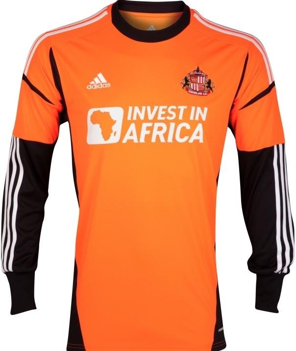 New Adidas Sunderland Goalkeeper Kit 2012-13