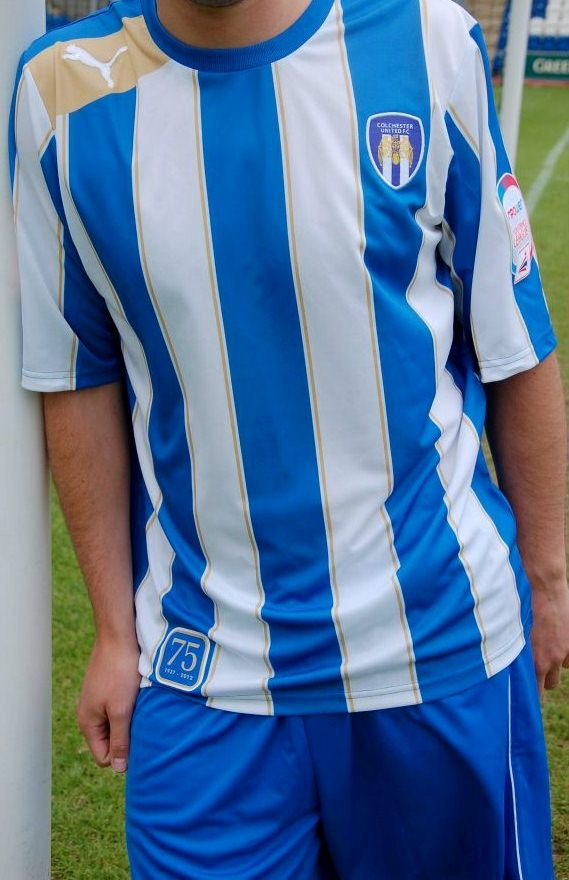 New Colchester United Kit 2012 13