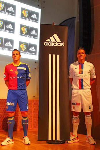 New FC Basel Kits 12-13