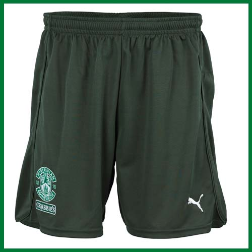 New Hibs Kit 2013 Shorts
