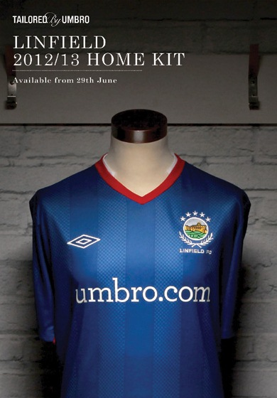 New Linfield Home Kit 2012
