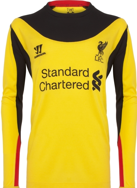 New Liverpool Goalkeeper Jersey 2012-13