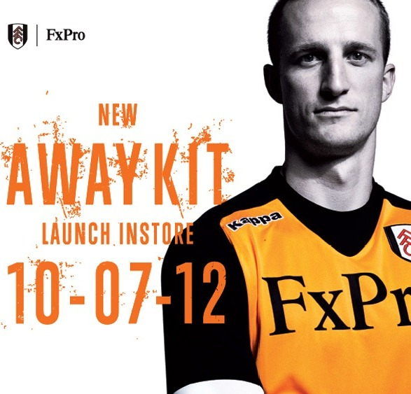 New Orange Fulham Shirt 2013
