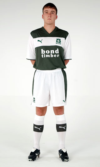 New Plymouth Argyle Home Shirt 2013