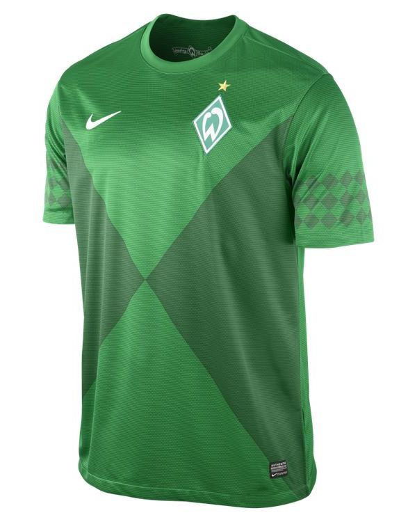 competitive price 9b0aa 23bf5 New Werder Bremen Kit 12-13- Nike SV Werder Home Shirt 2012-2013 ...