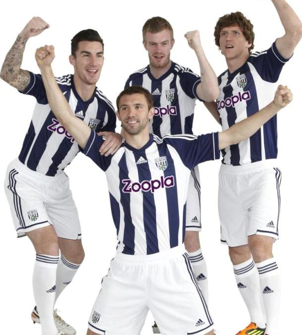 New West Brom Kit 2013