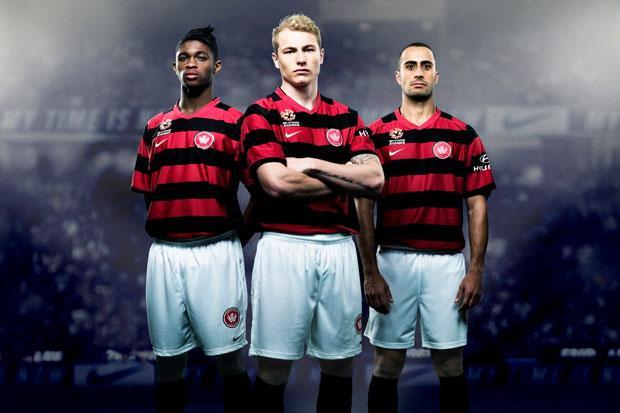New Western Sydney Wanderers Jersey 2012