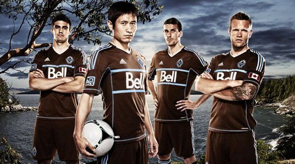 New Whitecaps Shirt 2012