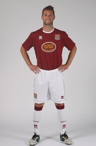 Northampton Town FC Shirt 2012