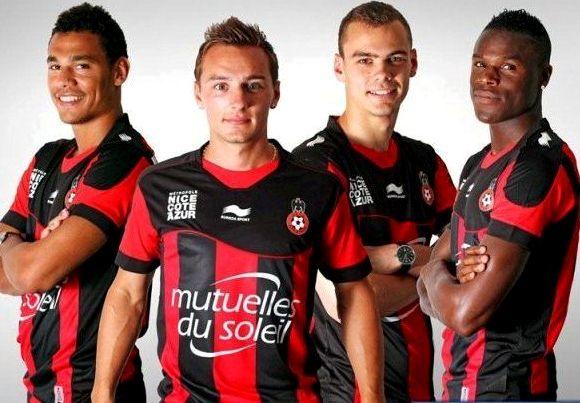 OGC Nice Soccer Jersey