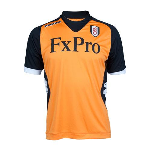 Orange Fulham Kit 2013
