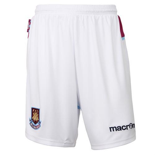 West Ham Home Shorts